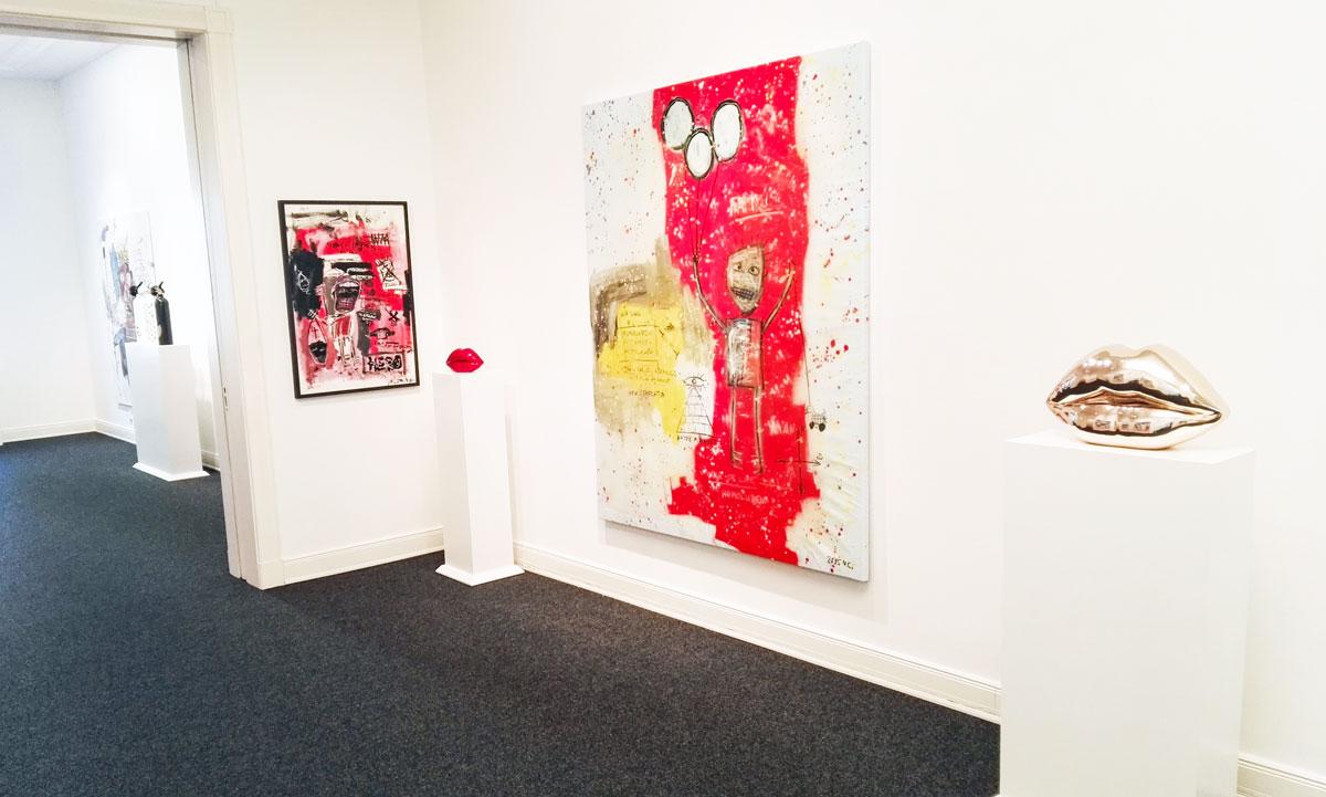 Niclas Castello Zeus Is Not A 9 To 5 Job 2015 Galerie Schimming