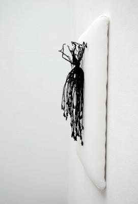 Anne-Carnein,-Auf-ewig,-2013,-Stoffe,Draht-und-Garn,-100cm