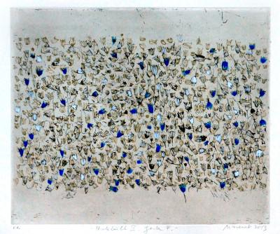 Falko Behrendt, Hatebüll II Garten, 24x29cm, 2013