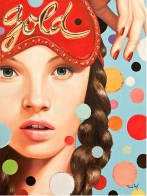 Heiner Meyer, Miss Good Night_2012_160x120cm_Öl auf Leinwand-31.300€