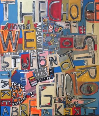 JuHo_Der gute Geist_142x120cm_Malerei auf Holz_2014
