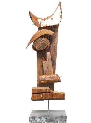 JuHo_o.T._Skulptur aus Fundstücken_75x24cm_2008