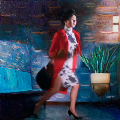 LoRe_In the mood for love (red coat)_150x150cm_2013