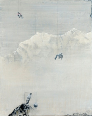Up in the air, 2012 100 x 80 cm PeDa_M_36.001.L