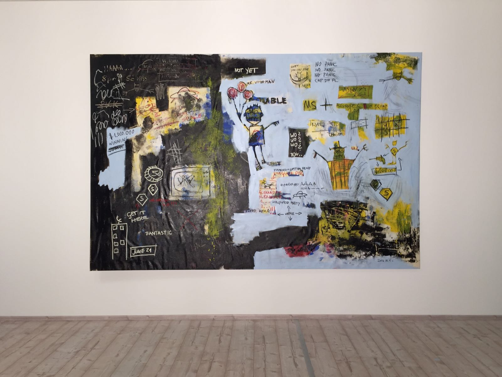 Niclas Castello Vertreibung Aus Dem Paradies 2017 Galerie Schimming
